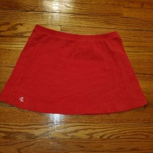 LAUREN RALPH LAUREN RED SKIRT
